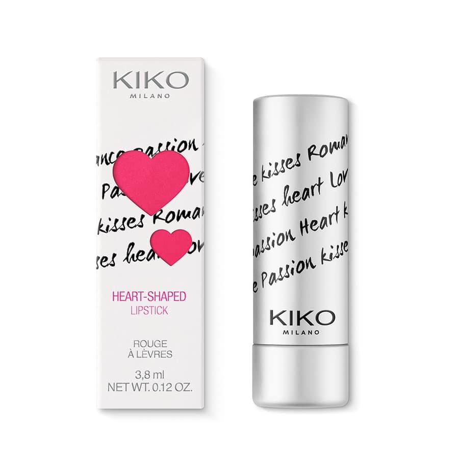 Kiko Matte for you e il nuovo rossetto a forma di cuore, perfetto per San Valentino