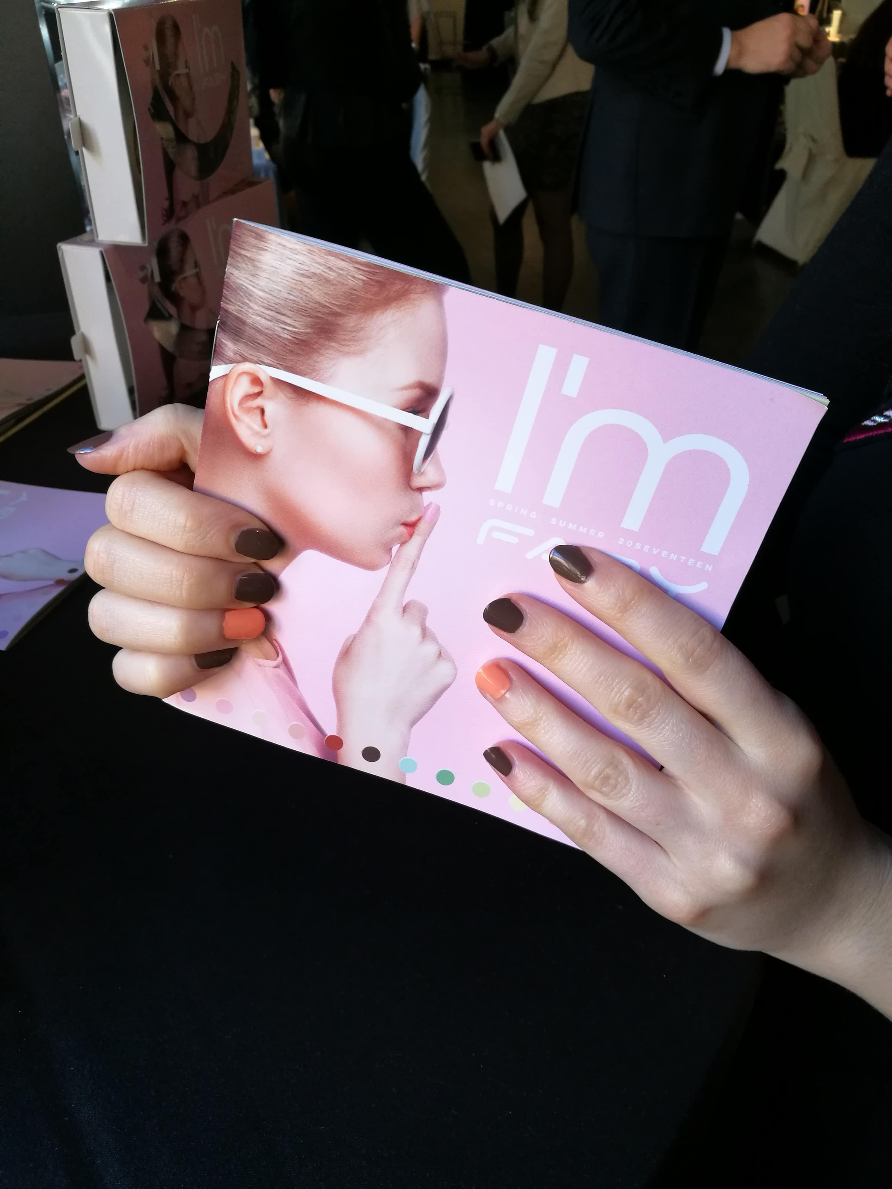 I'm Faby, la mia manicure all'evento di presentazione della nuova collezione primavera-estate 2017
