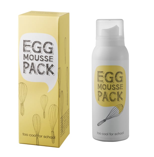 Egg mousse pack della linea Egg by Too Cool For School