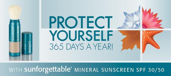 Il pennello Sunforgettable by Colorescience per una protezione 365 giorni all'anno
