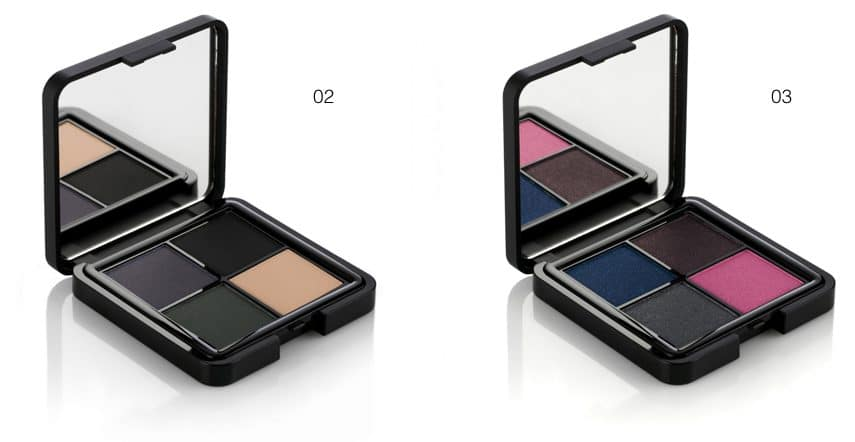 Palette in 3 nuance You Are Bellissima