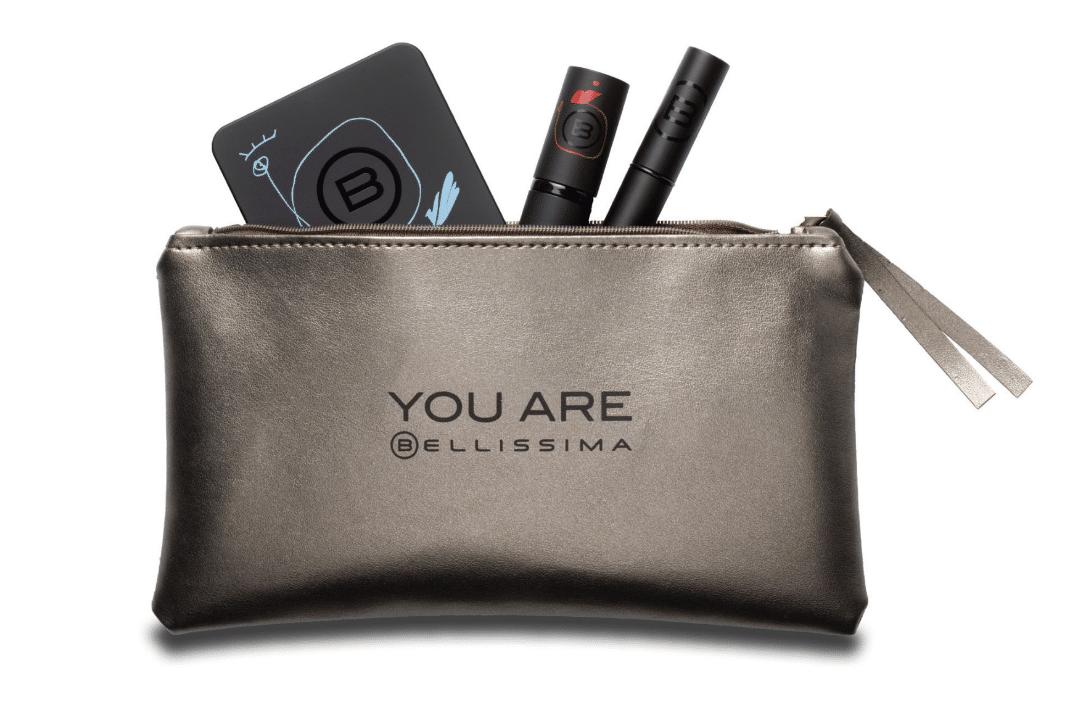 La pochette in ecopelle per portarsi dietro gli indispensabili della collezione You Are Bellissima