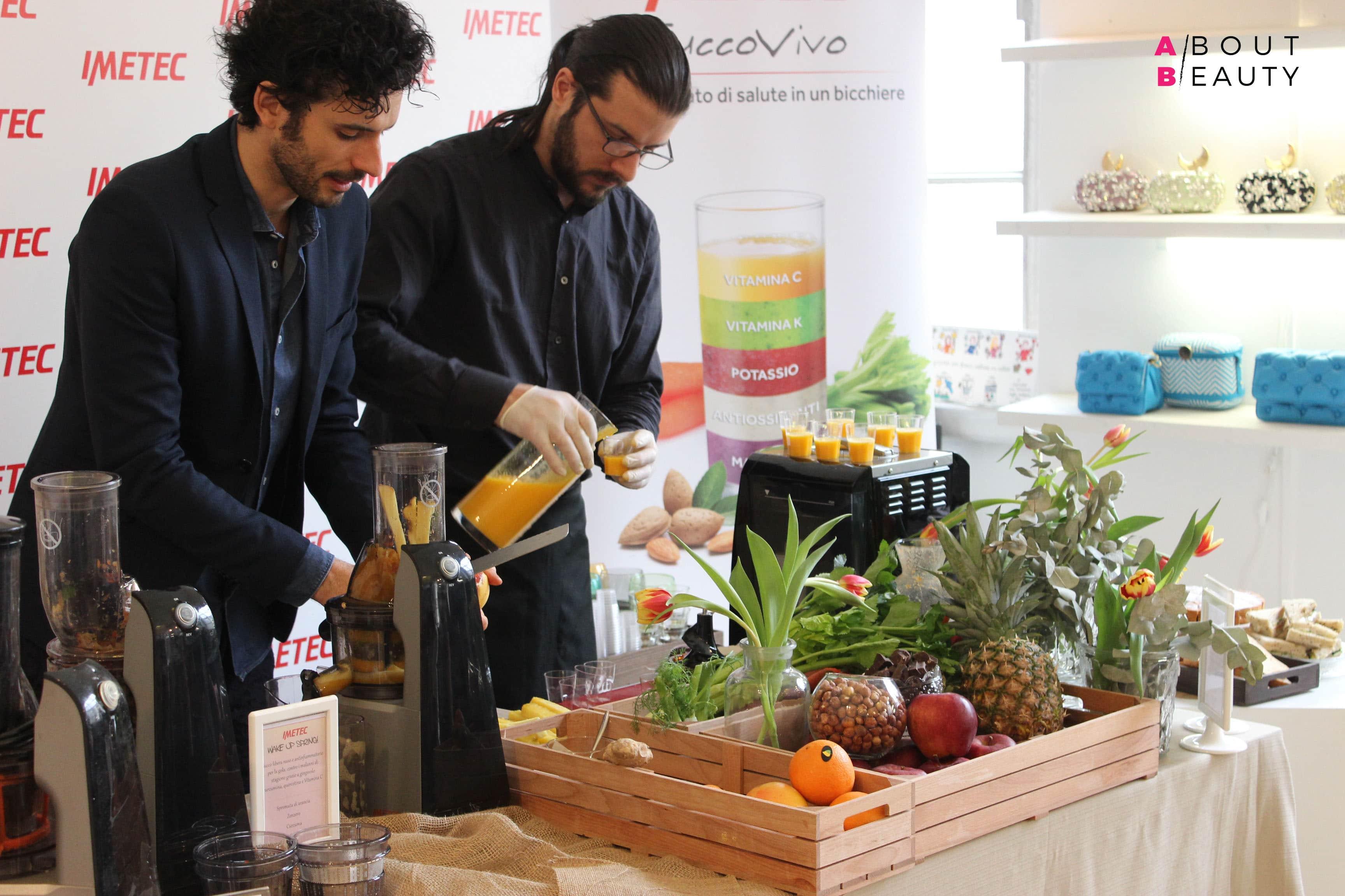 Wake Up Spring, l'evento organizzato da Imetec Succo Vivo in collaborazione con Marco Bianchi