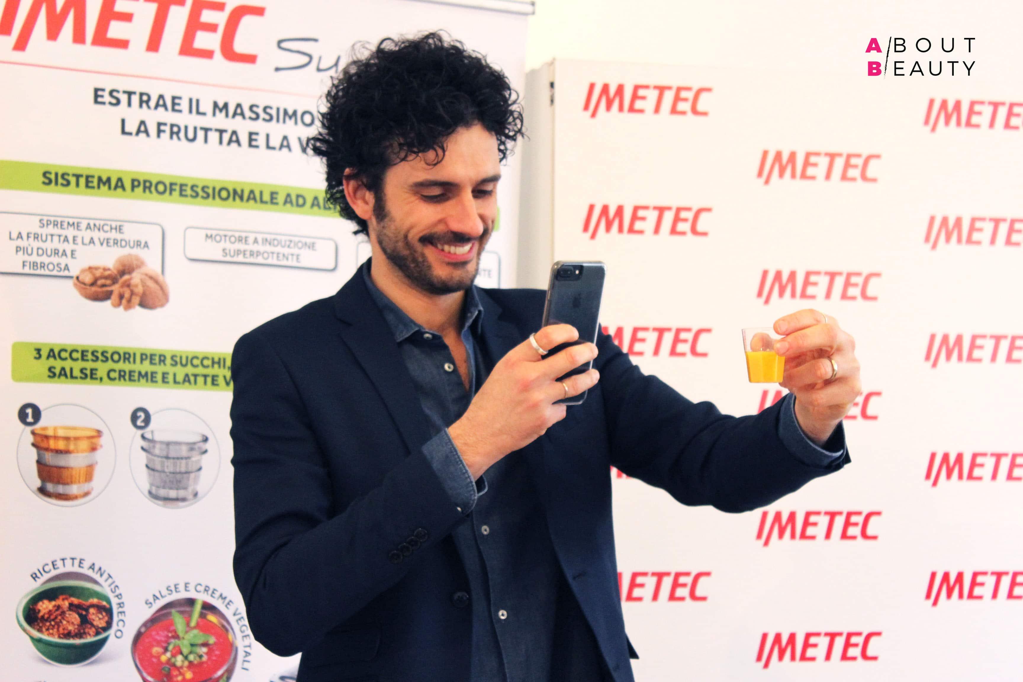 Le ricette di Marco Bianchi per l'evento Imetec Succo Vivo Wake Up Spring - Succo Rinvigorente