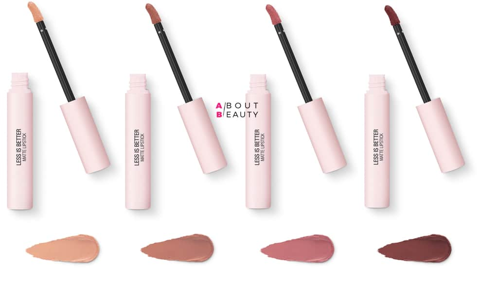 Kiko Less is Better Matte Lipstick 01-02-03-04