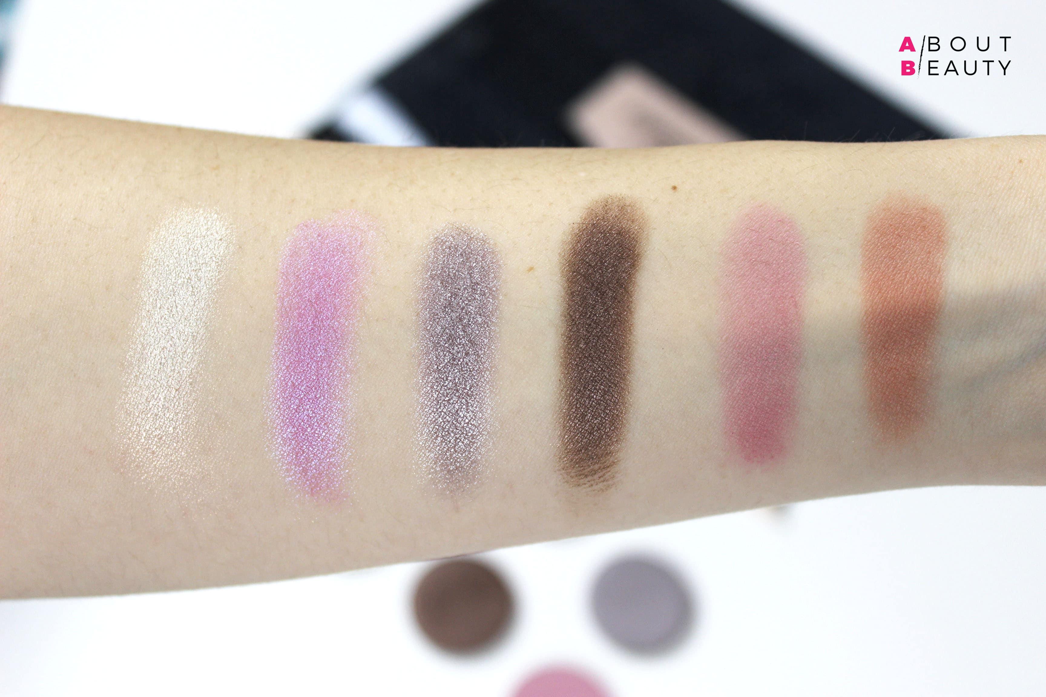 Grungelic, la nuova collezione Neve Cosmetics - Swatches di tutti i blush e gli ombretti