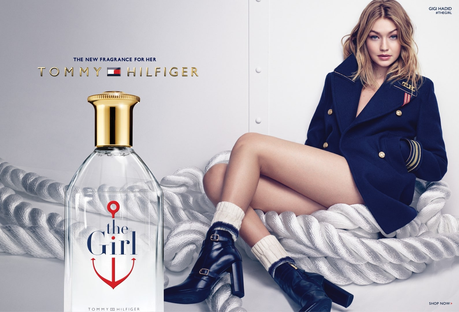 The Girl, la nuova fragranza di Tommy Hilfiger