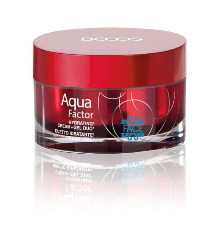 La crema duetto della linea Aqua Factor by Becos
