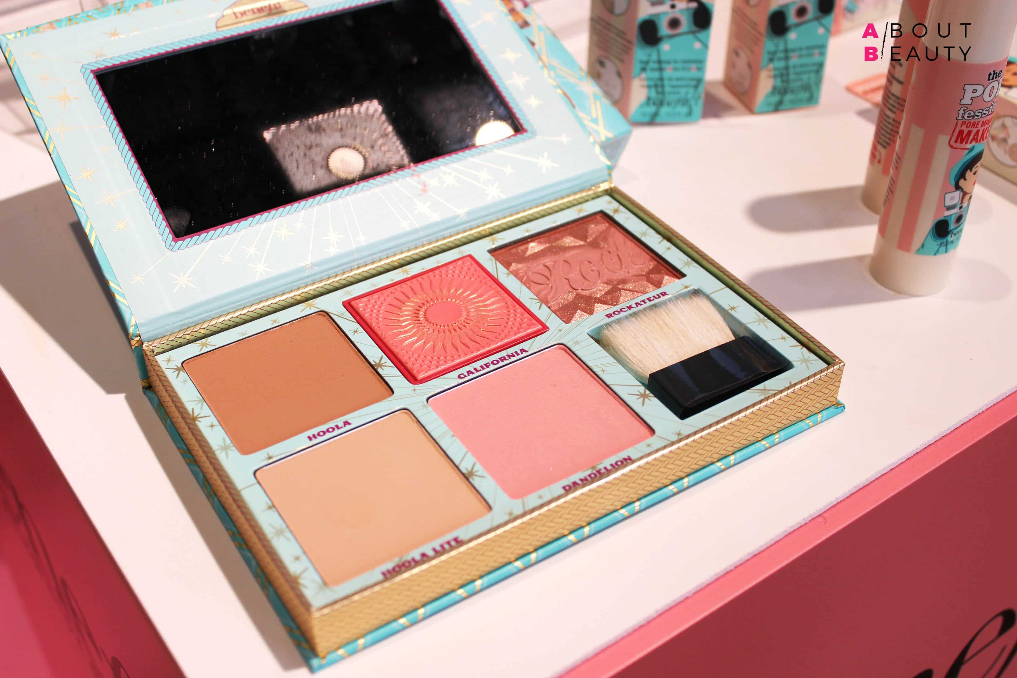 Benefit Cosmetics, tutte le novità make-up per la Primavera-Estate 2017 - Palette Cheek Parade