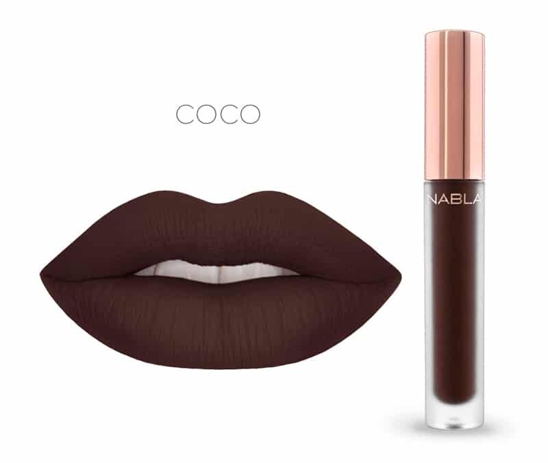 Coco - Dreamy Matte Liquid Lipsticks, le nuove tinte labbra Nabla Cosmetics