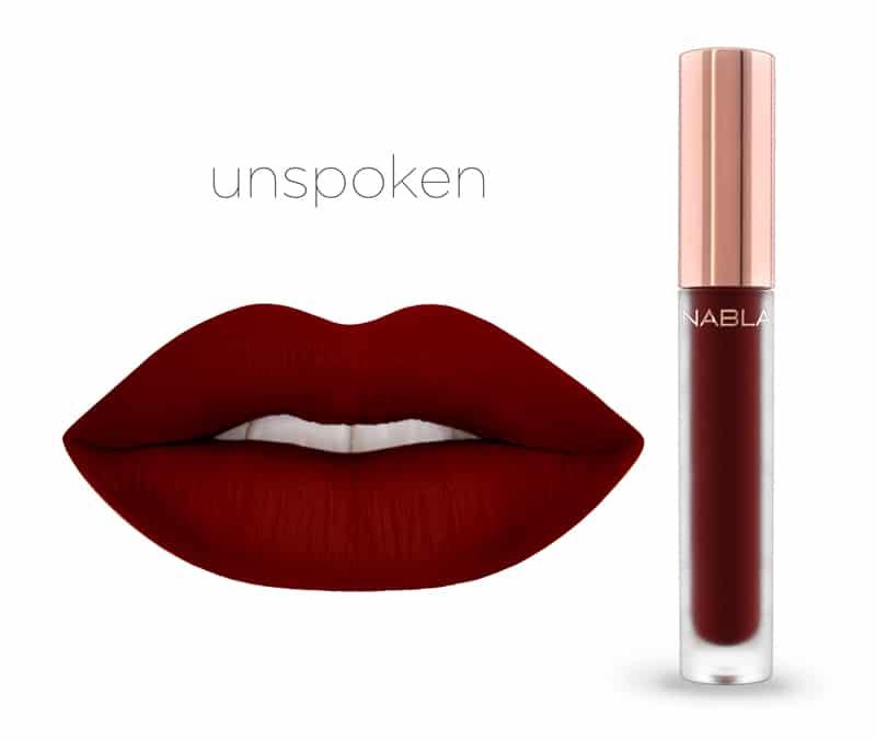 Unspoken - Dreamy Matte Liquid Lipsticks, le nuove tinte labbra Nabla Cosmetics