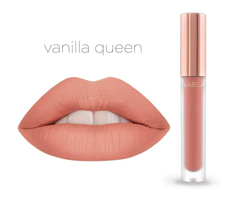 Vanilla Queen - Dreamy Matte Liquid Lipsticks, le nuove tinte labbra Nabla Cosmetics