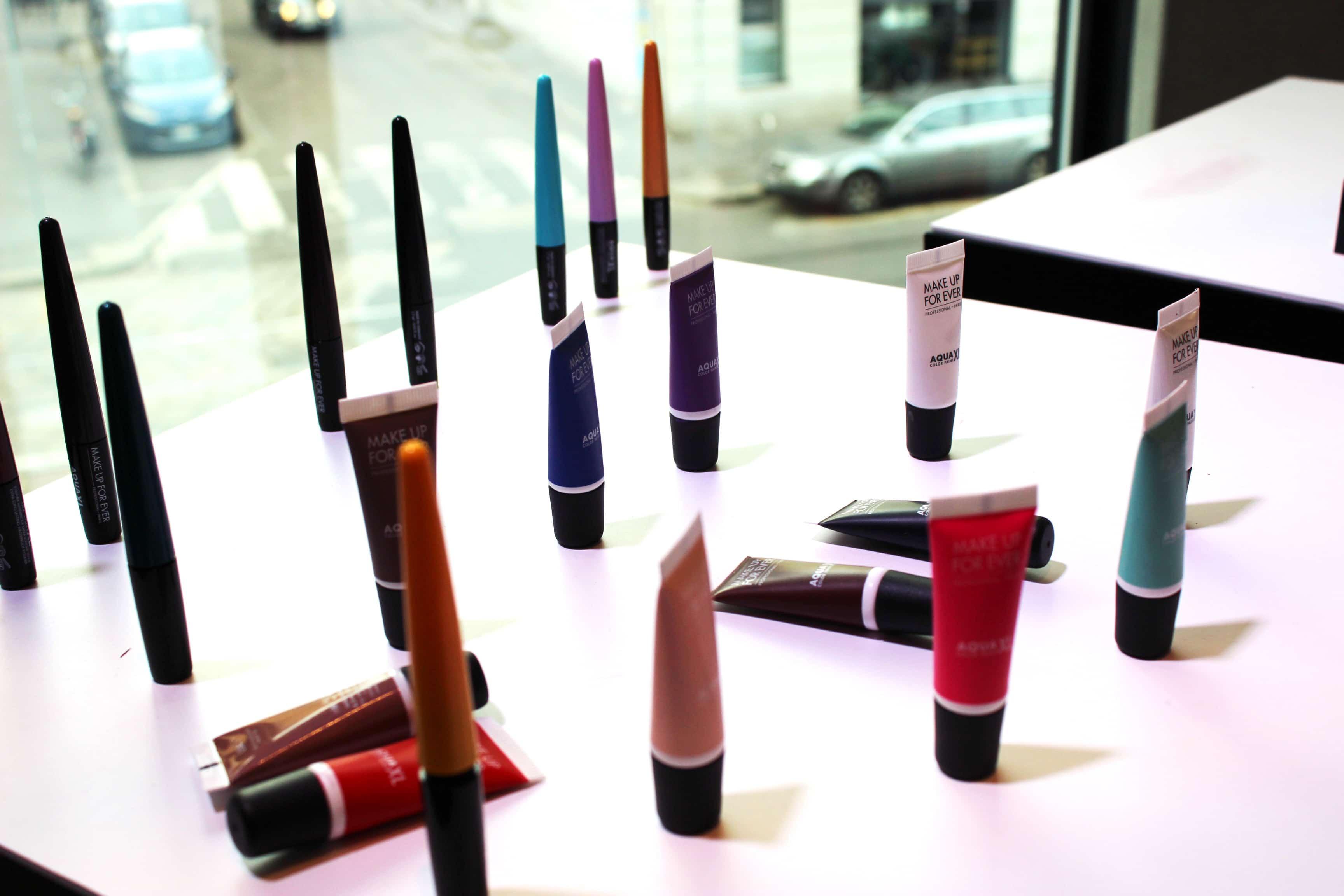 Aqua XL di Make Up For Ever arriva da Sephora con un eyeliner e degli splendidi ombretti in crema