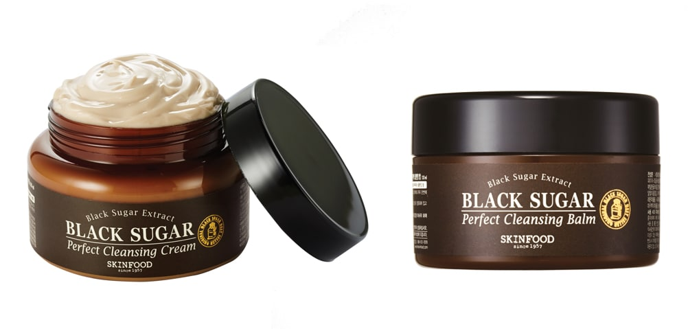 Skinfood: crema detergente e balsamo detergente allo zucchero scuro - Skincare coreana