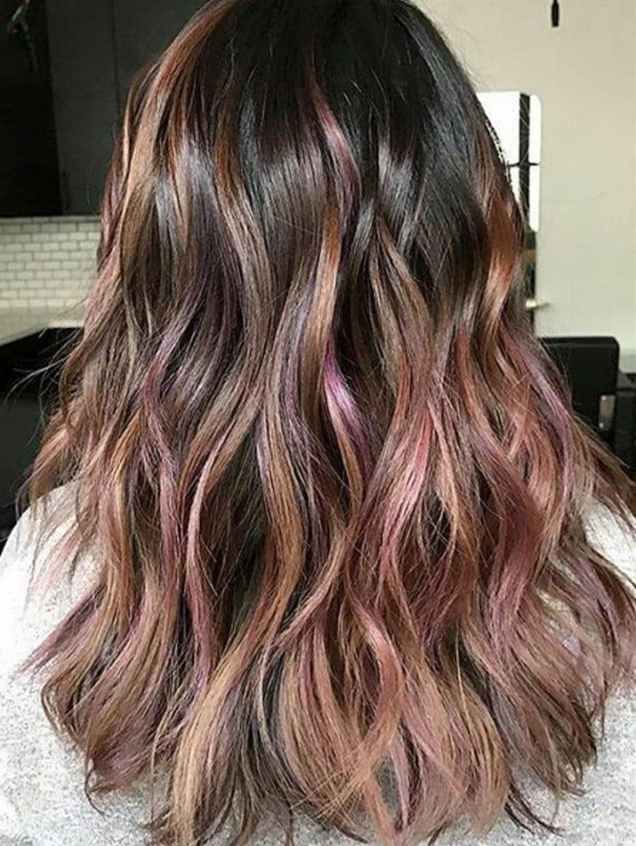 Trend capelli Primavera-Estate 2017 - Il Chocolate Mauve