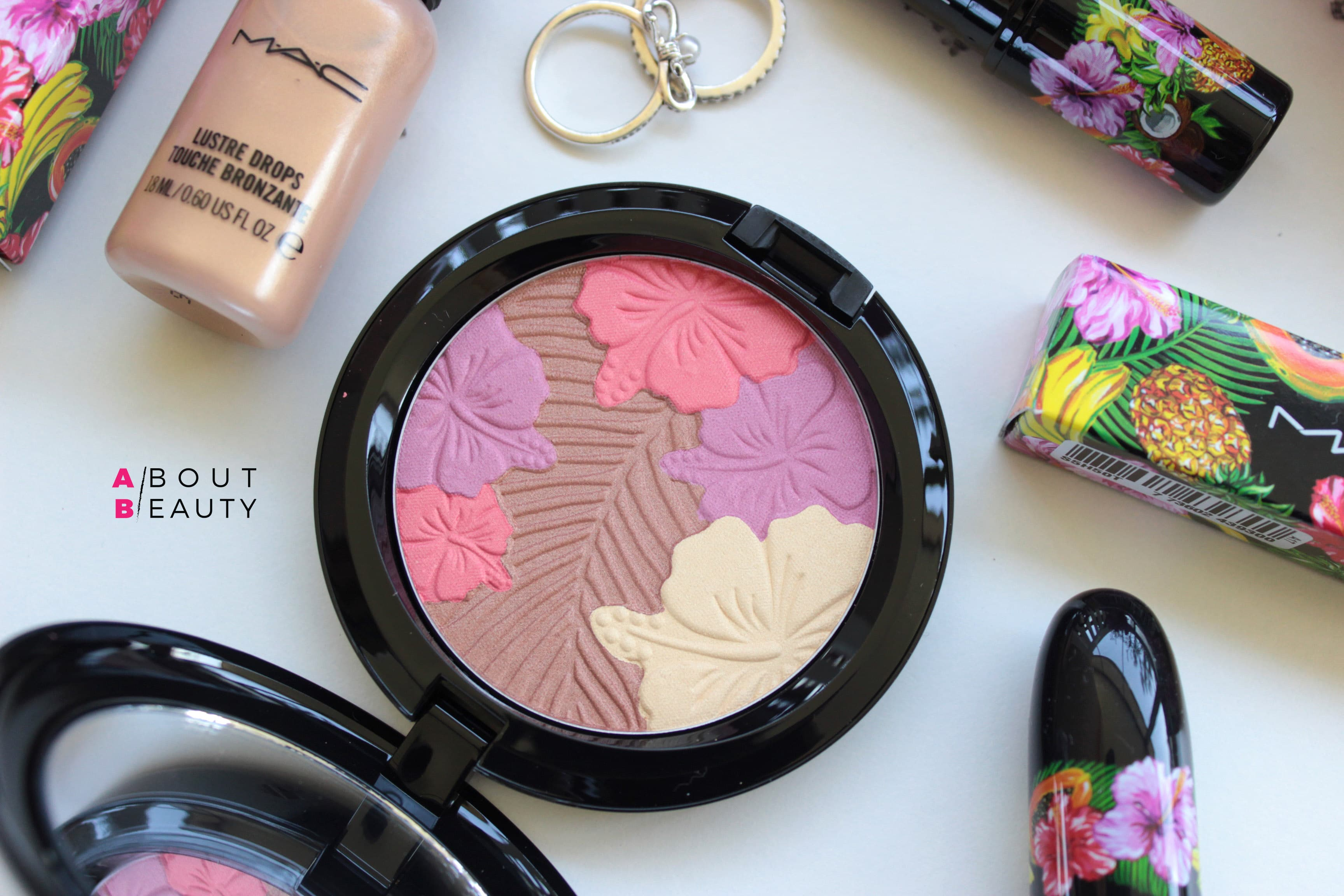 MAC Fruity Juicy Pearlmatte Face Powder - Review, Swatch, opinioni e comparazioni della polvere viso Pearlmatte Face Powder Oh My Passion! in limited edition
