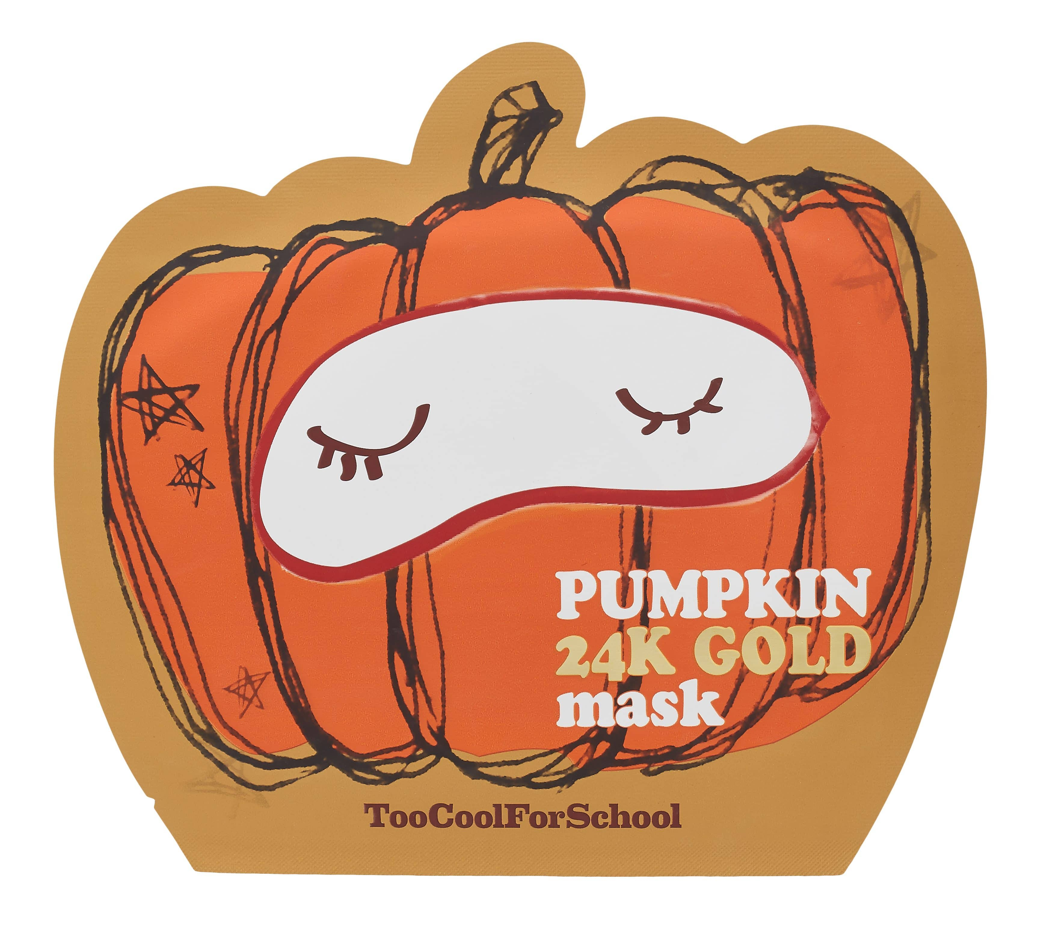 Pumpkin Mask di Too Chool For School dagli effetti rigeneranti per il viso