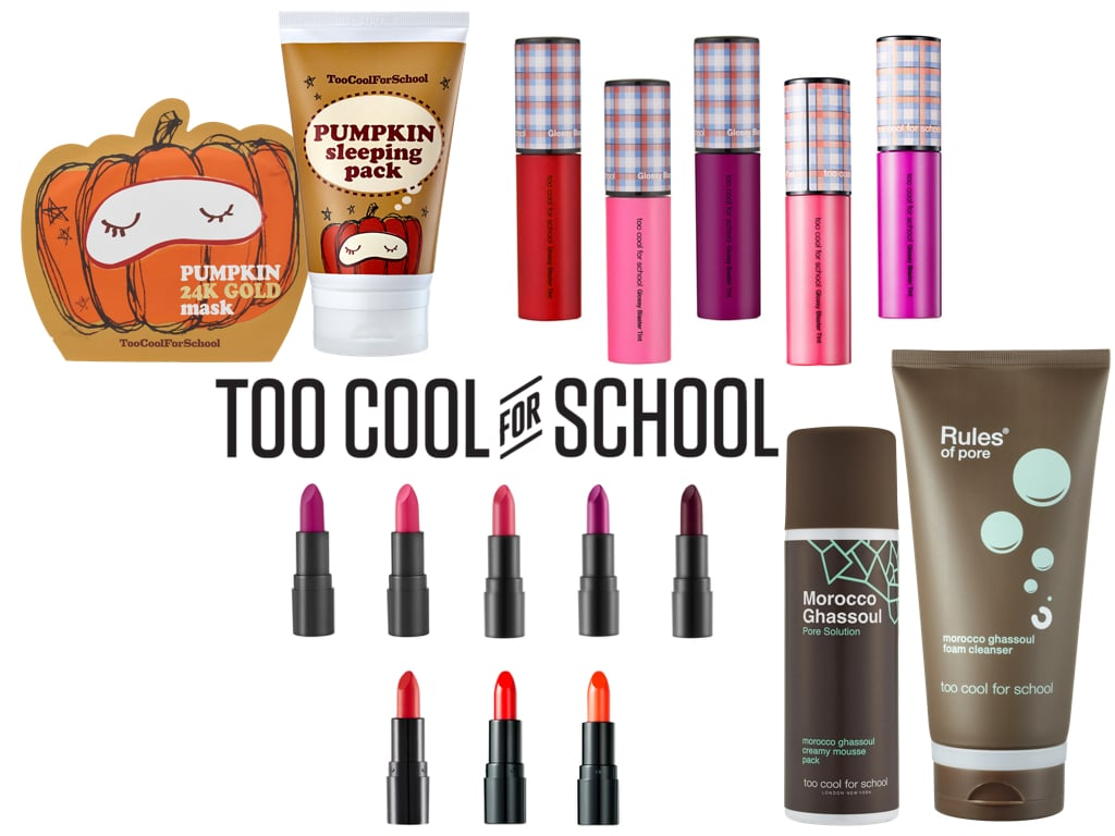 Pumpkin, Morocco e Hot Girl Lip Stick: le tre collezioni di Too Cool For School in esclusiva da Sephora