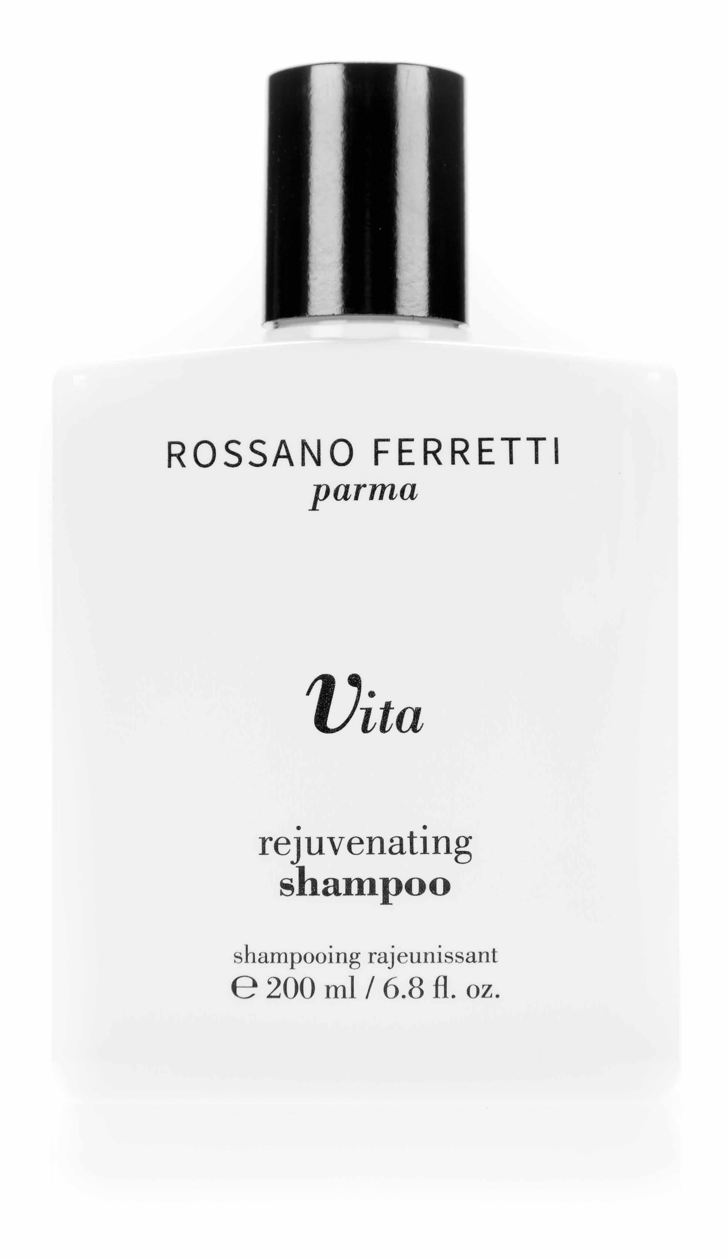 Rossano Ferretti Parma, Vita Rejuvenating Shampoo: il delicato e naturale shampoo per capelli rinforzati e sani