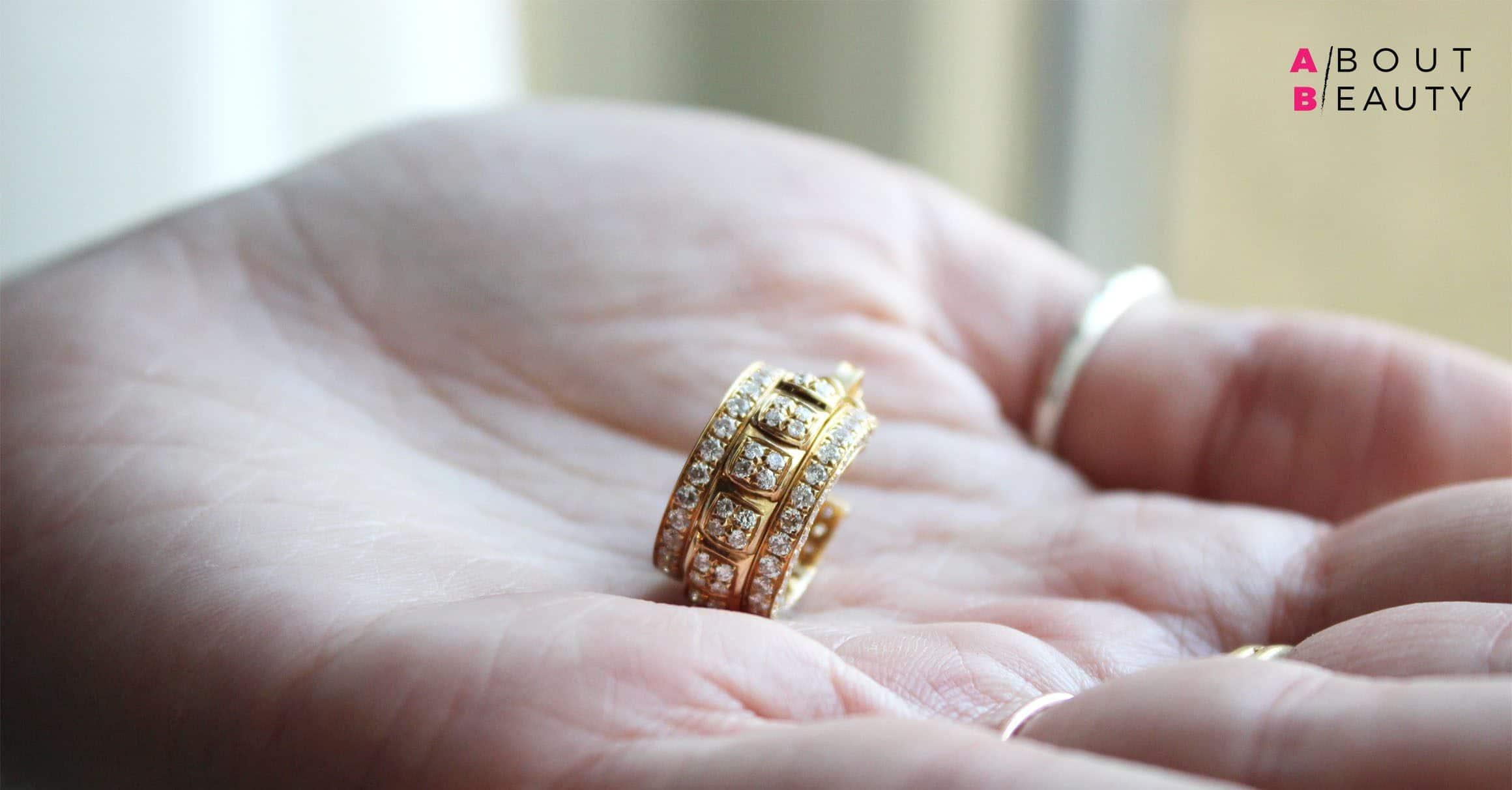 Farnese Gioielli presenta la nuova collezione Mondo - Versailles White Spine con diamanti in oro giallo