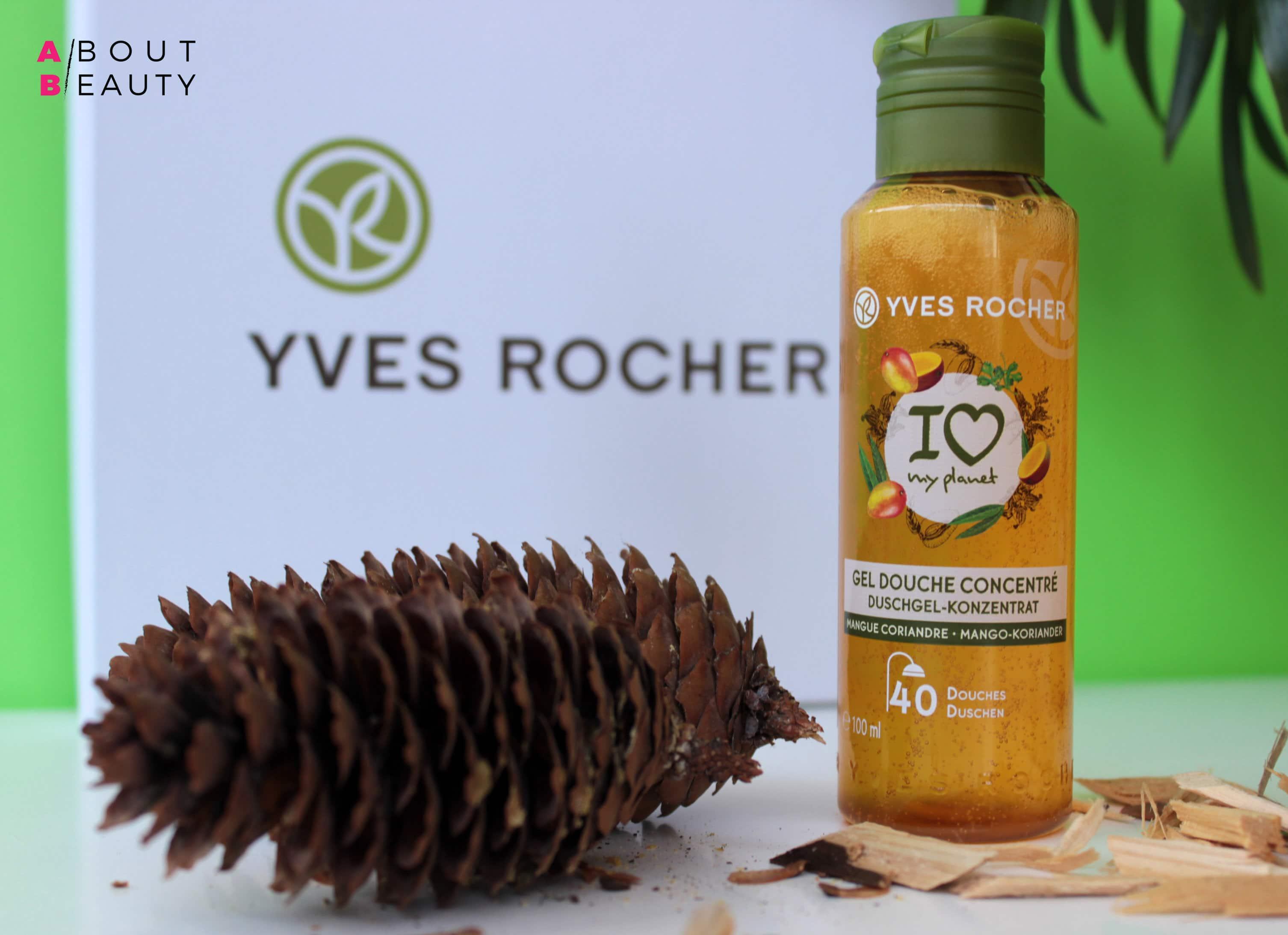 Yves Rocher presenta il nuovo Gel Doccia Concentrato - Versione Energia al Mango