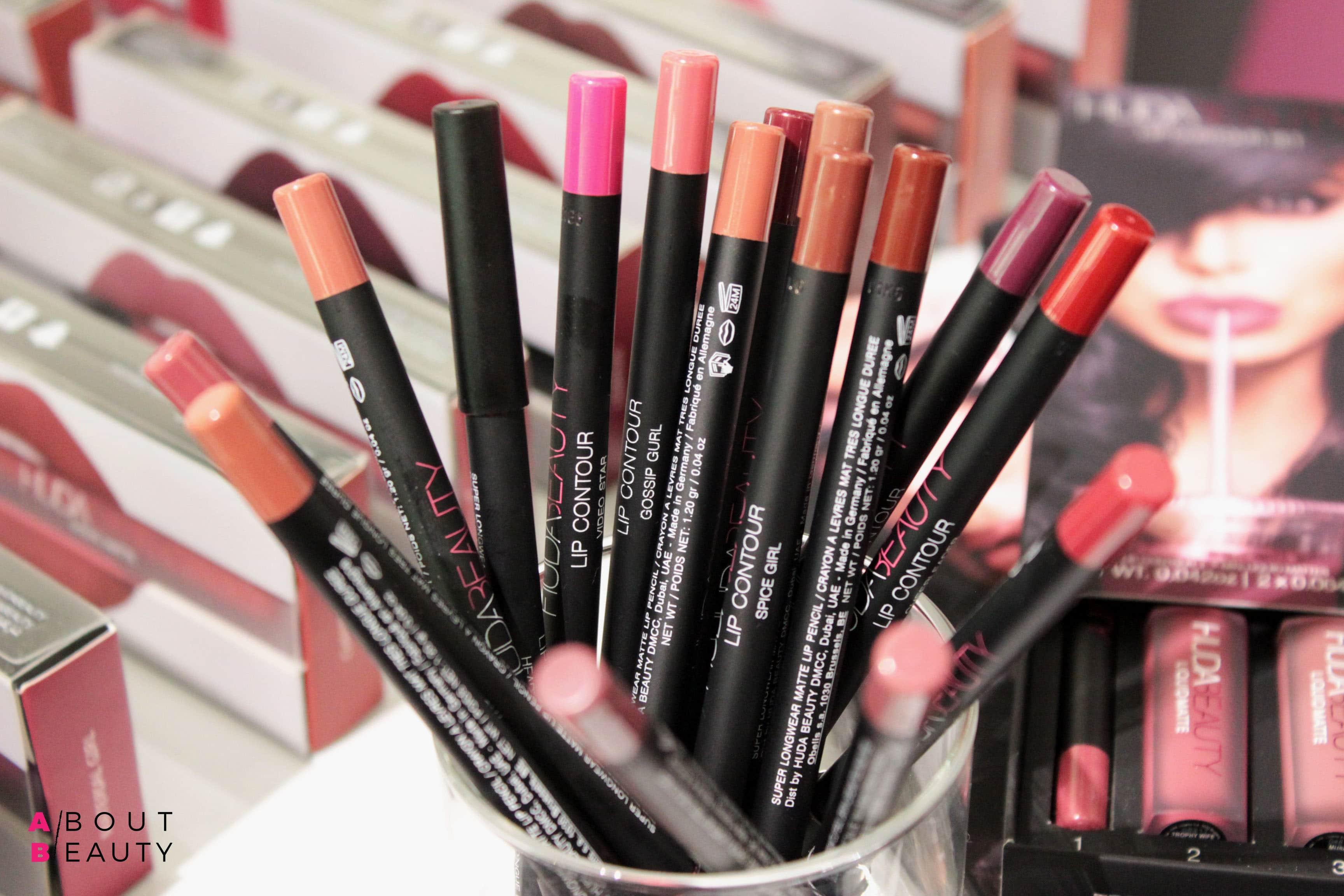 Huda Beauty arriva in Italia: tutti i prodotti presto disponibili da Sephora - Matite labbra lip contour