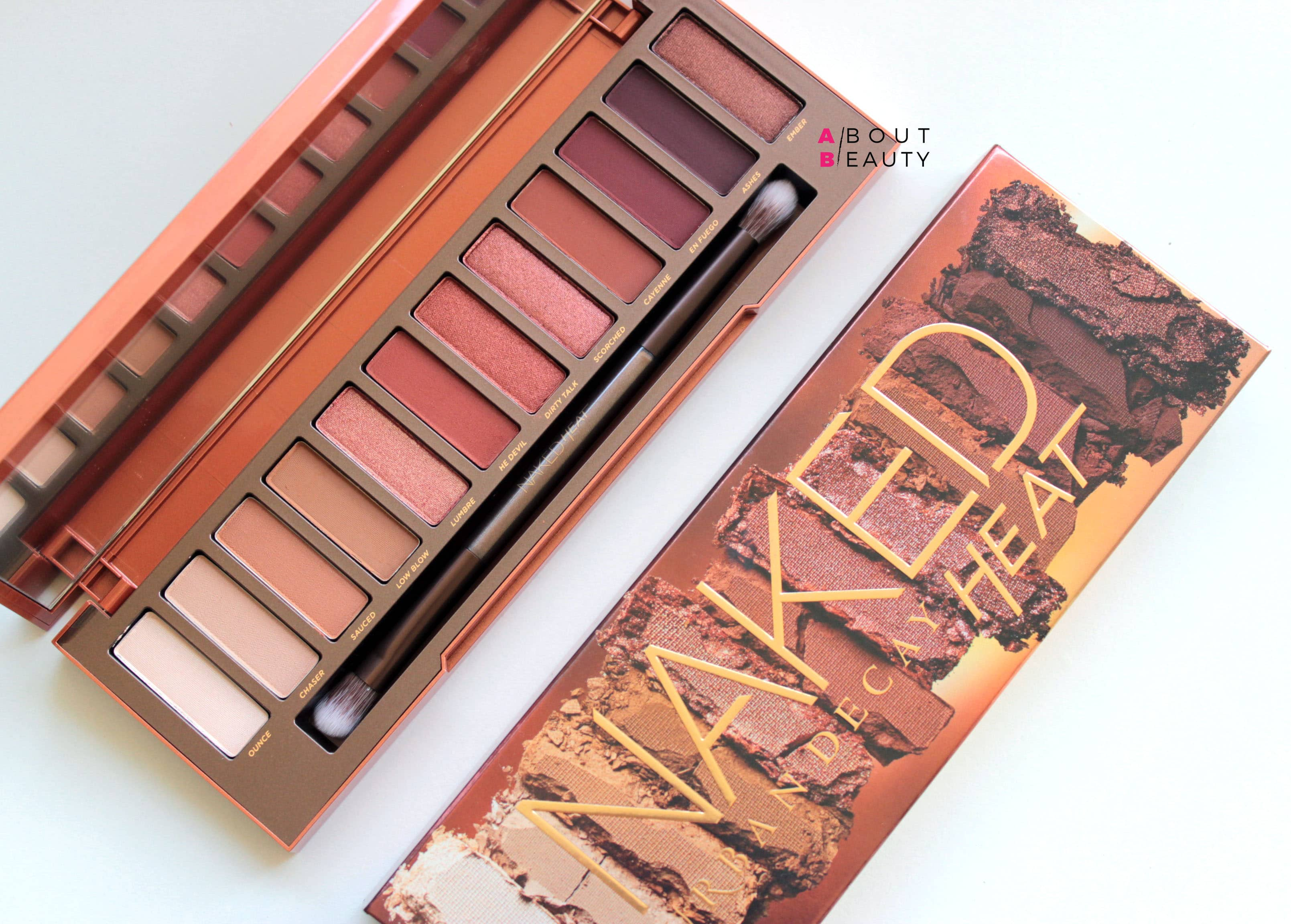 Urban Decay Naked Heat Collection - Swatch, info, prezzi e recensione