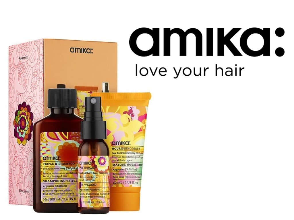 Amika Treat(ment) Me Set, il kit da viaggio per capelli sempre perfetti
