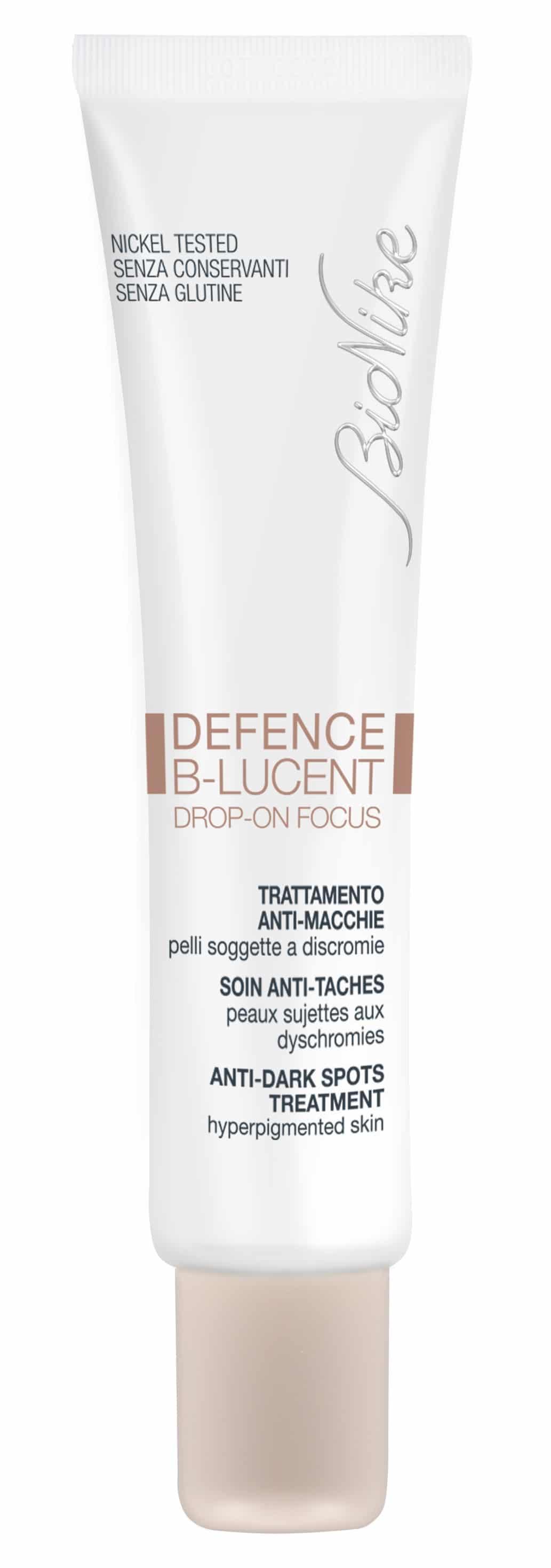 Defence B-LUCENT di BioNike: un trattamento mirato delle macchie localizzate