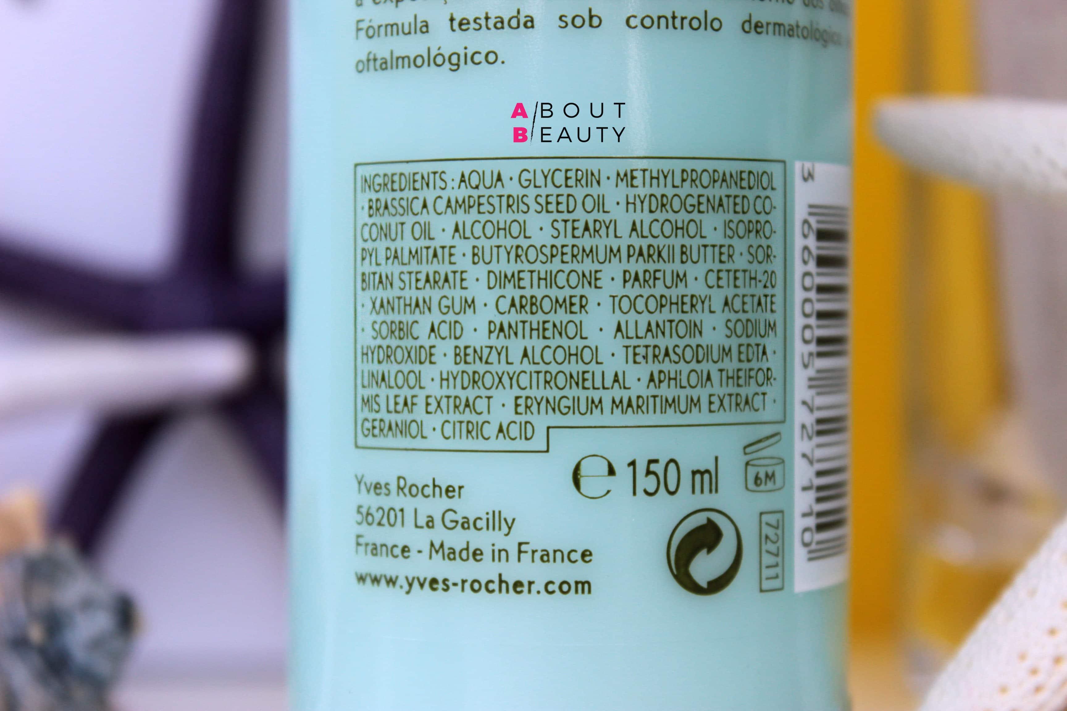 Al mare con i solari Yves Rocher Solaire Peau Parfaite - Latte Spray Corpo SPF 50+ e Latte Idratante 3 in 1 Doposole - INCI