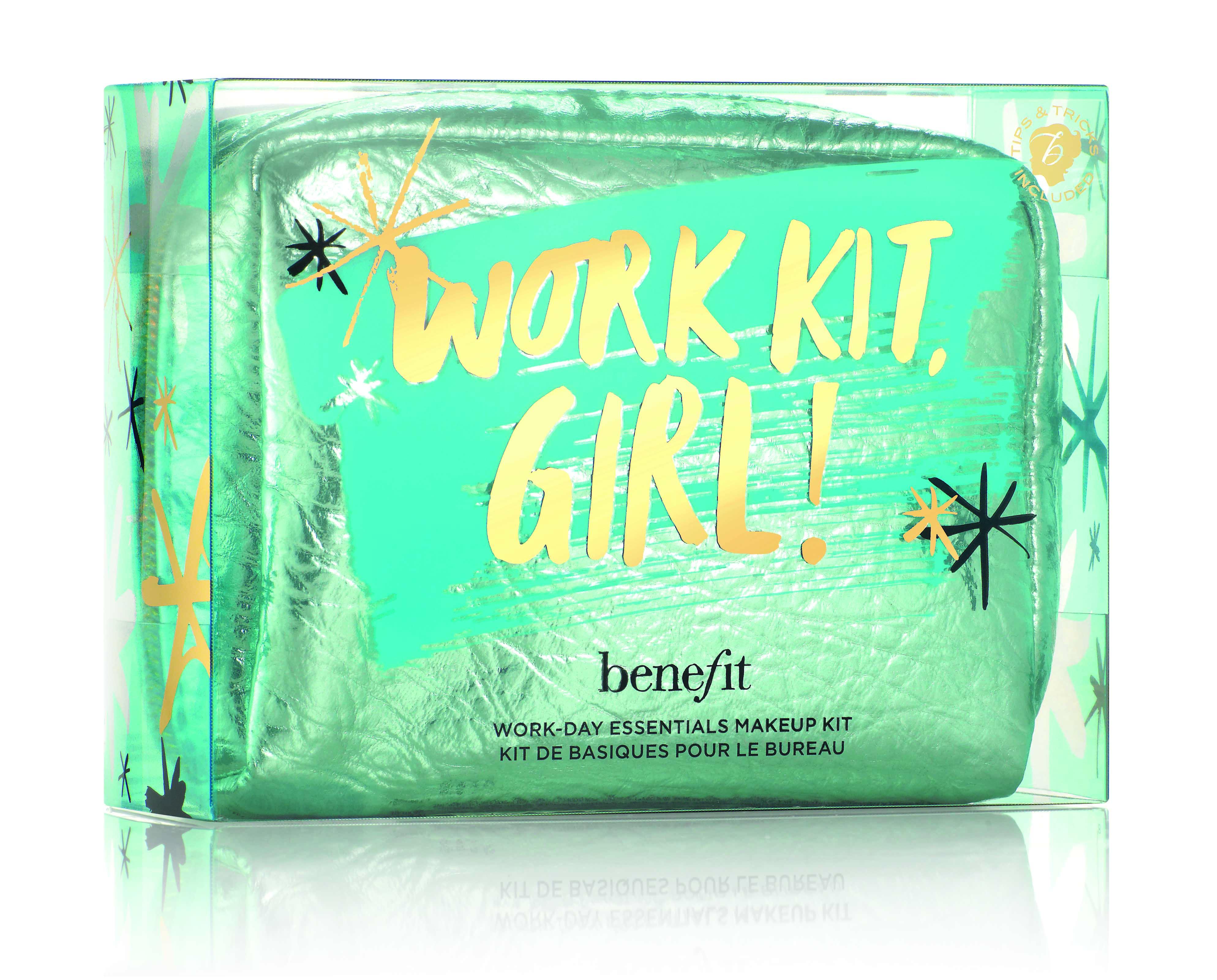 Benefit autunno-inverno 2017: la pochette da collezione Work Kit Girl!