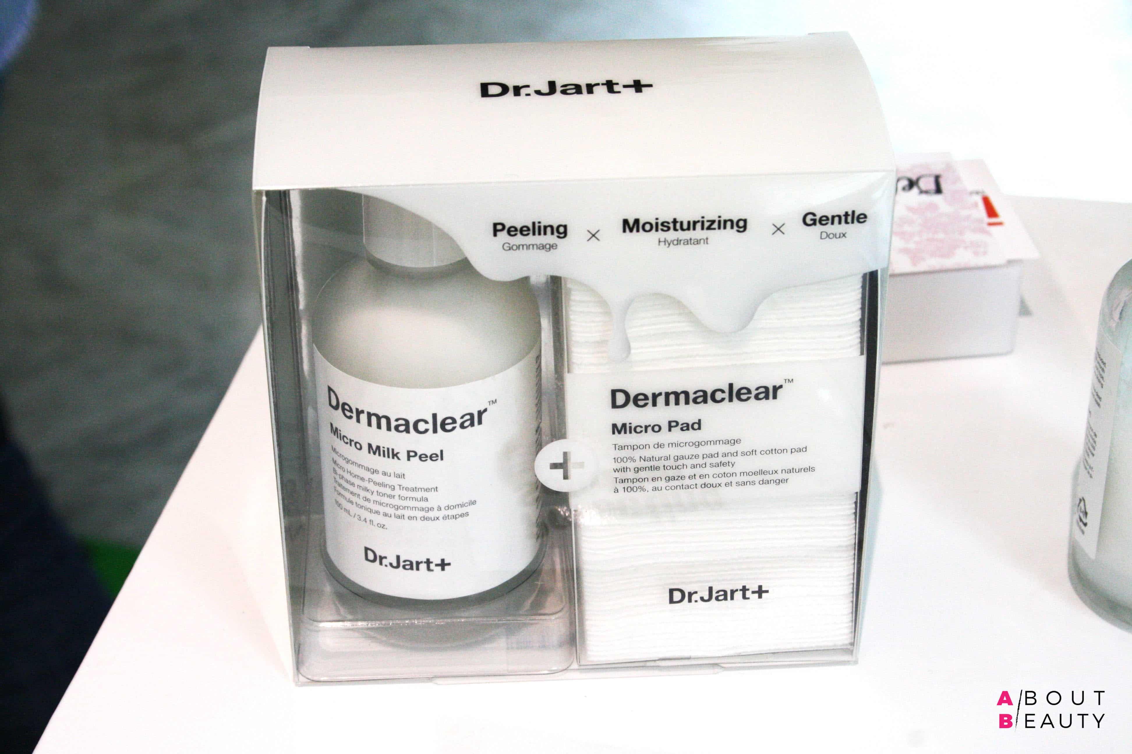 Dr. Jart+ presenta Dermask, Dermaclear e Ceramidin Trial Kit, le novità per l'autunno-inverno 2017 - Lo scrub Dermaclear Micro Milk Peel