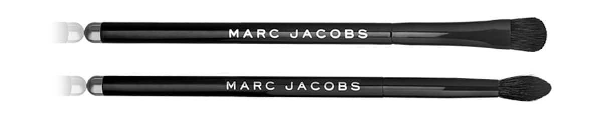 Marc Jacobs autunno 2017 eyeshadow brushes