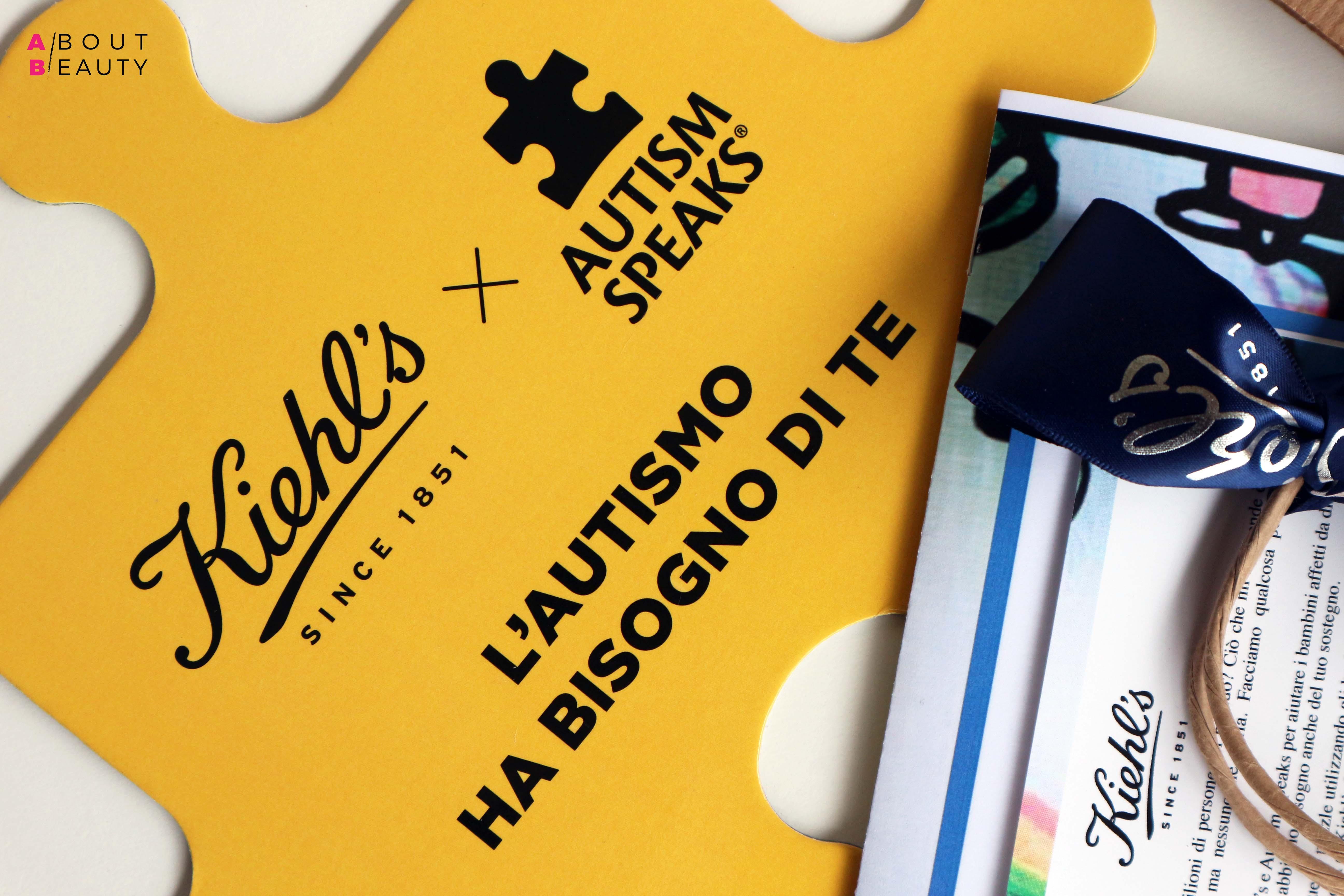 Matthew McConaughey firma la nuova edizione limitata Kiehl's a favore dell'organizzazione mondiale Autism Speaks