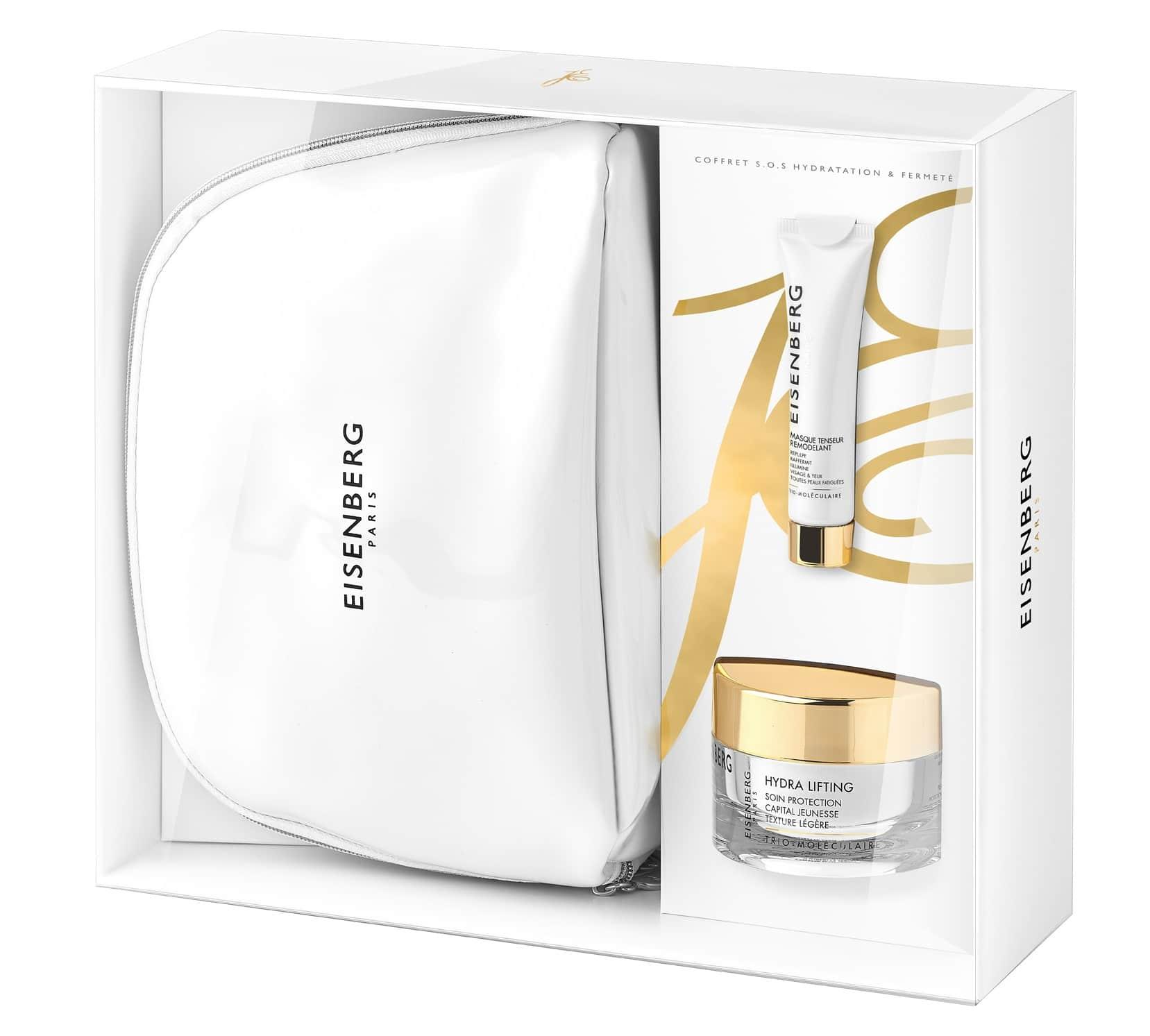 Idee regalo luxury - Cofanetti natalizi Eisenberg beauty e skincare - S.O.S. Idratazione & Compatezza: info, prezzi, dove acquistare