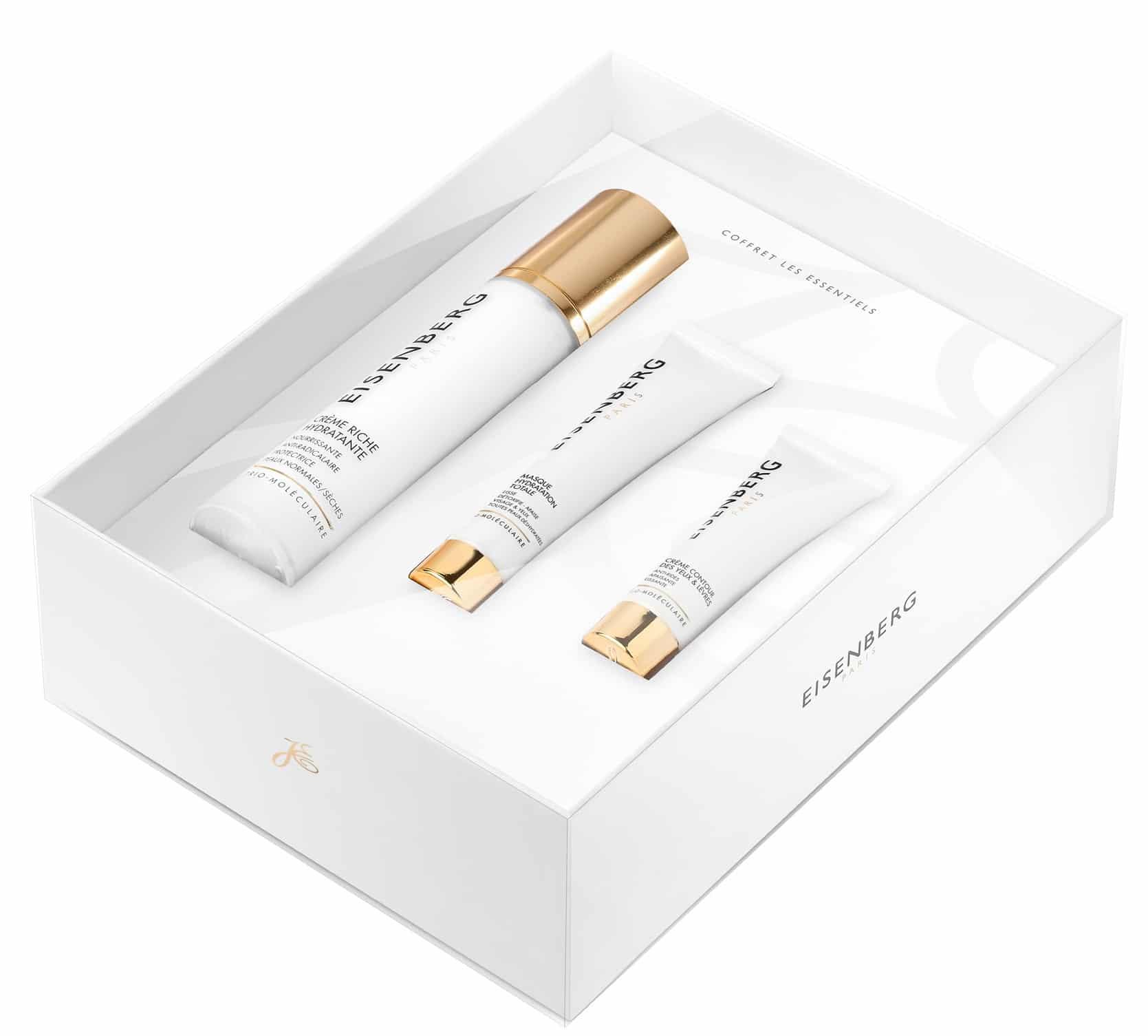 Idee regalo luxury - Cofanetti natalizi Eisenberg beauty e skincare - Gli essenziali: info, prezzi, dove acquistare