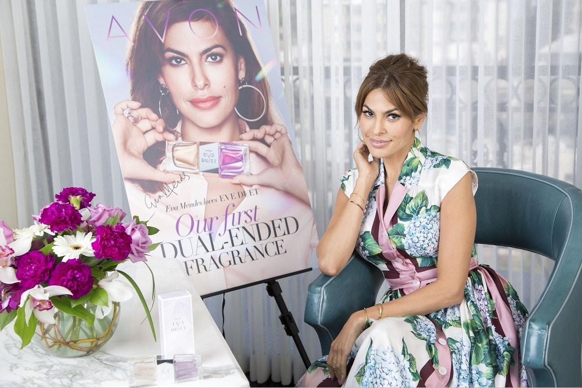 Avon ed Eva Mendes presentano Eve Duet,la nuova fragranza Avon Cosmetics
