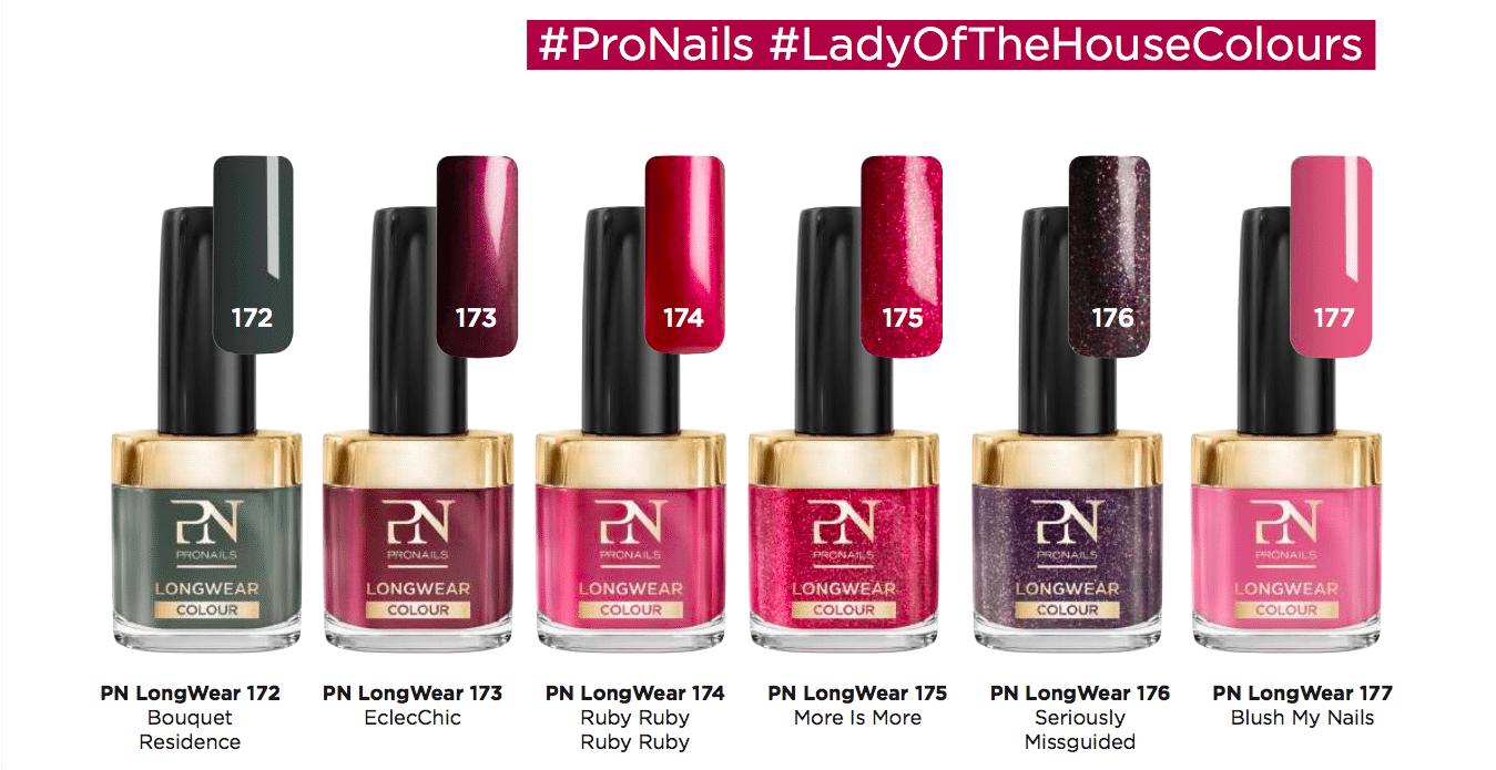 ProNails Lady of the house, tutte le colorazioni