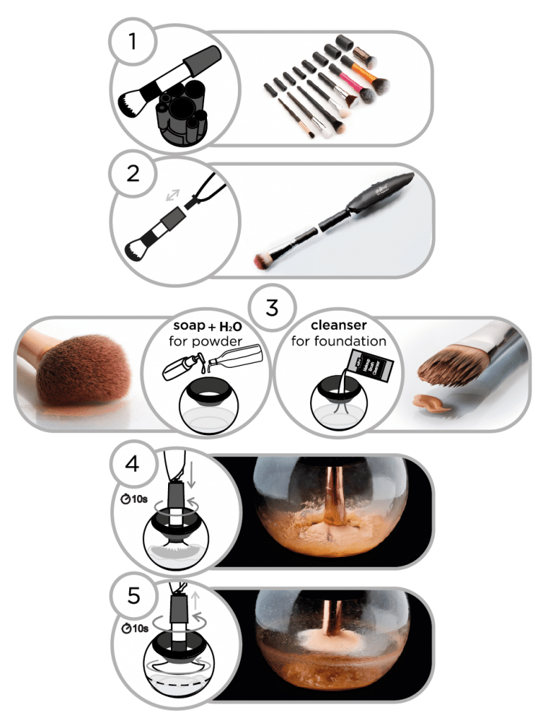 Stylpro, un modo rivoluzionario di lavare e asciugare i pennelli