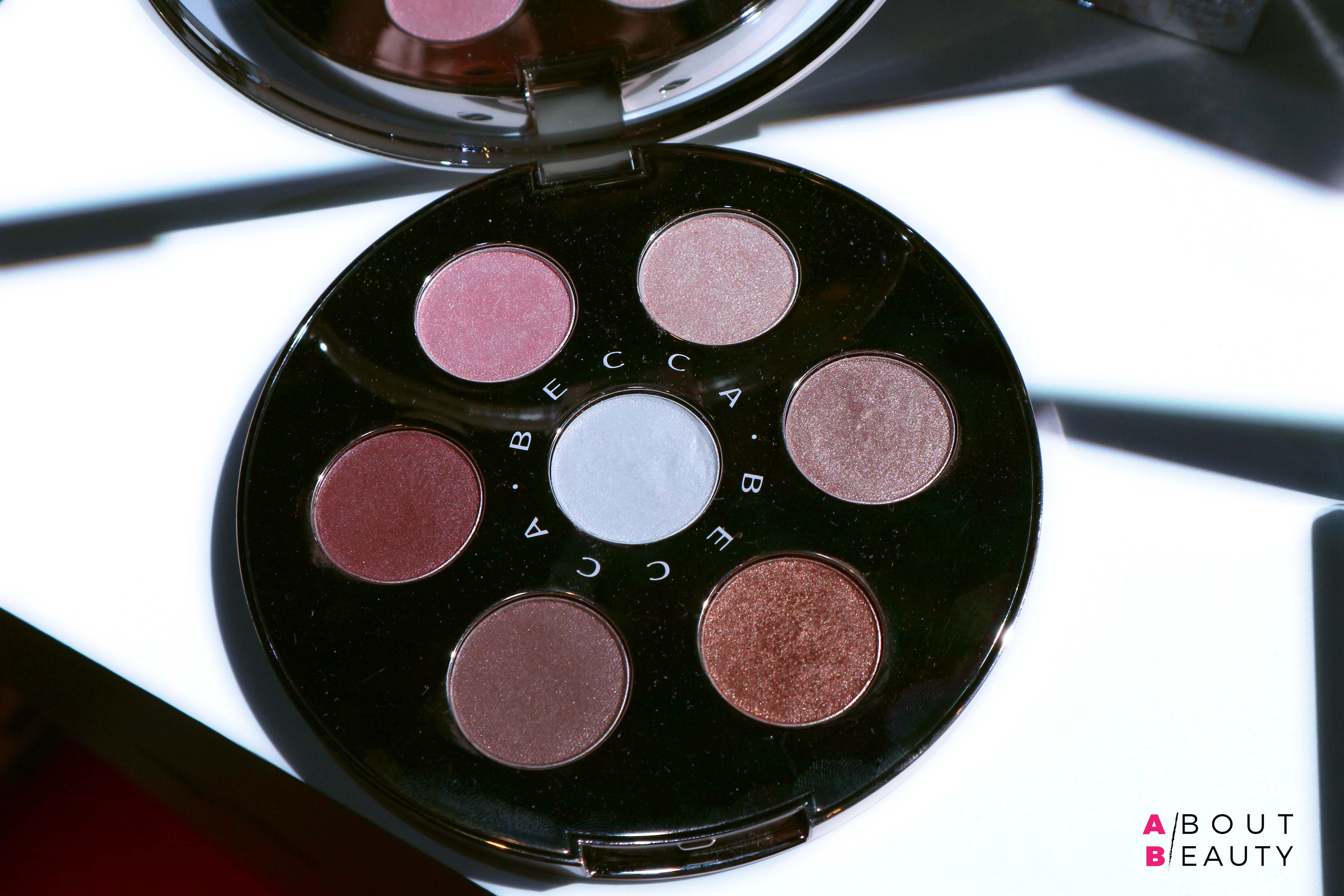 Novità Natalizie Becca Cosmetics 2017: info, foto, swatch, prezzi - La palette occhi Apres Ski Glow Eye Light Palette