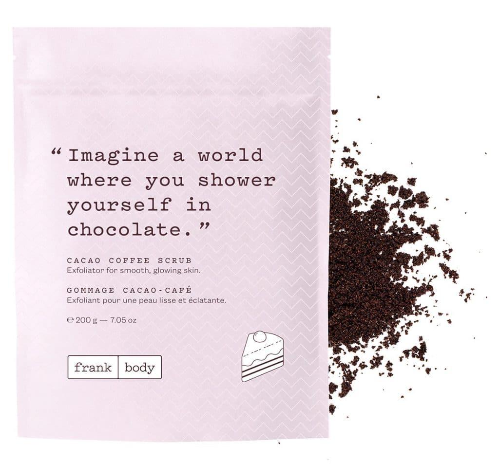 About Beauty Scrub al caffè e al cacao Frank Body
