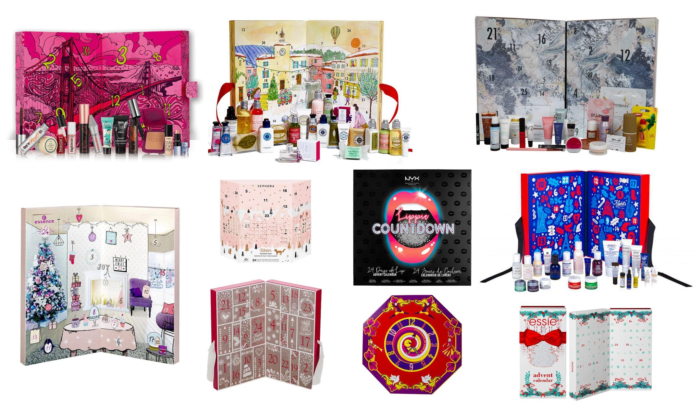 Calendari dell'Avvento Beauty 2017 da non perdere