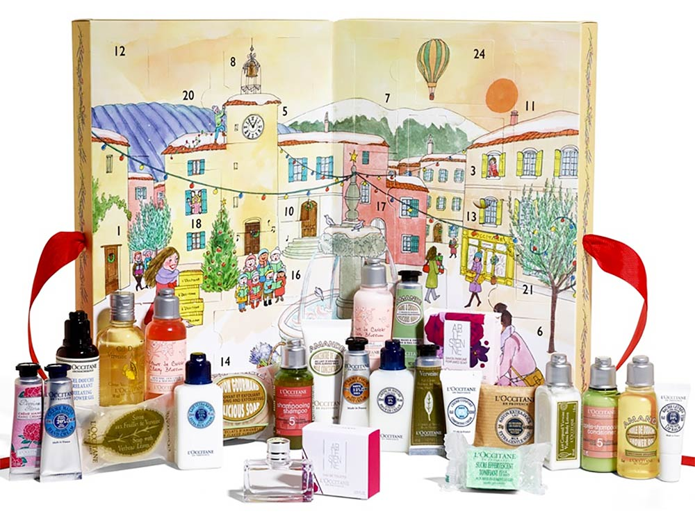 Calendari dell'Avvento Beauty 2017 da non perdere, il calendario L'Occitane