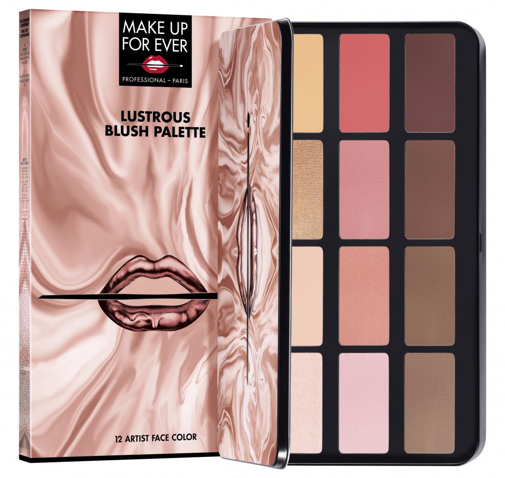 Le novità natalizie Make Up For Ever: Lustrous Blush palette