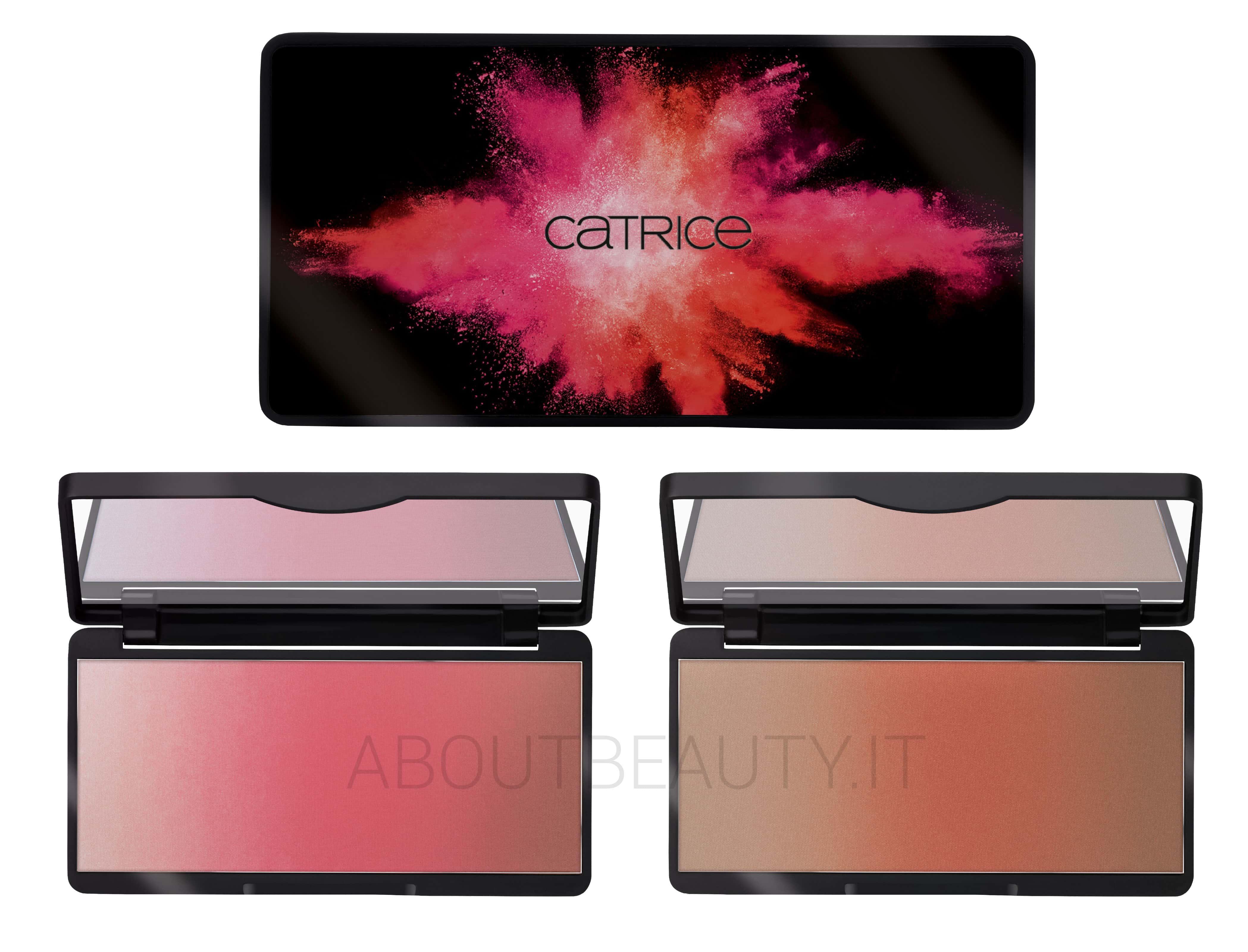 Catrice Blush Flush edizione limitata: info, recensione, review, prezzo, dove acquistare, swatch - Palette blush viso ombré