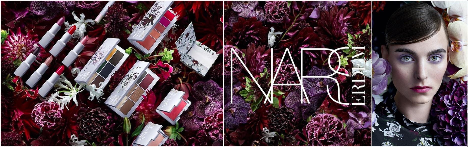 La nuova Erdem for NARS Strange Flowers Collection - review, recensione, data uscita, info, prezzo, dove acquistare