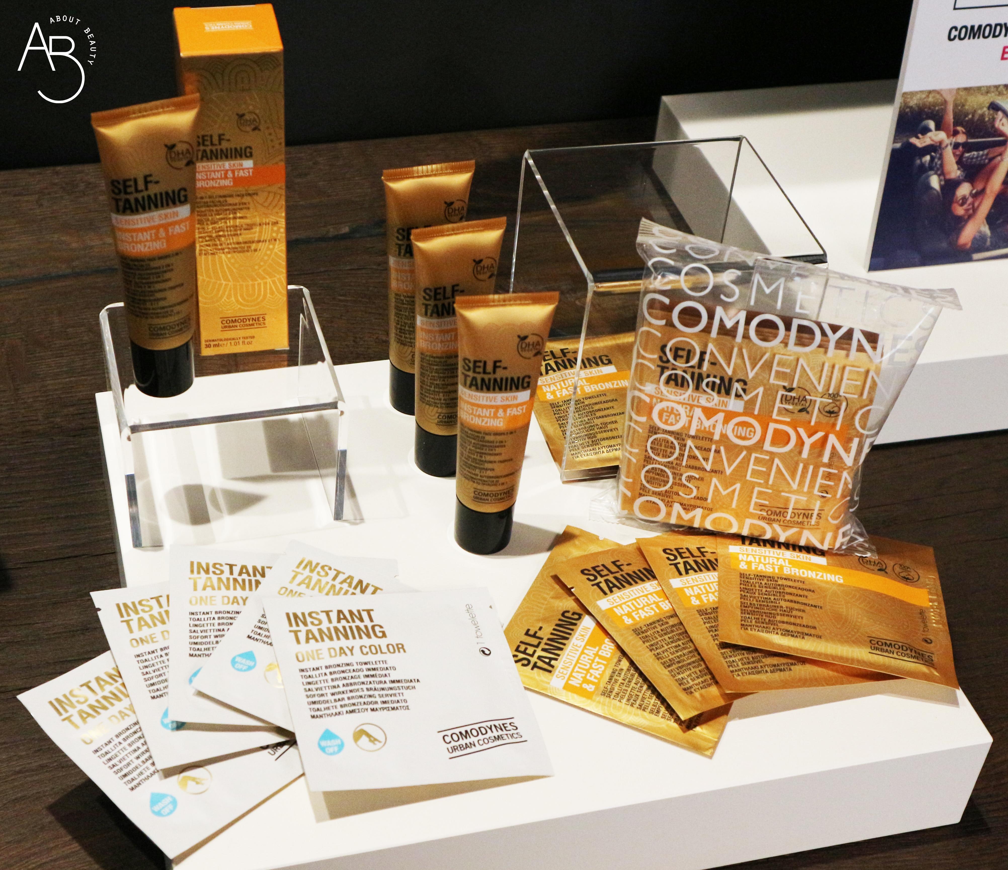 Comodynes lancia la sua linea di autoabbronzanti self-tanning per viso e corpo - Review, recensione, info, prezzo, dove acquistare