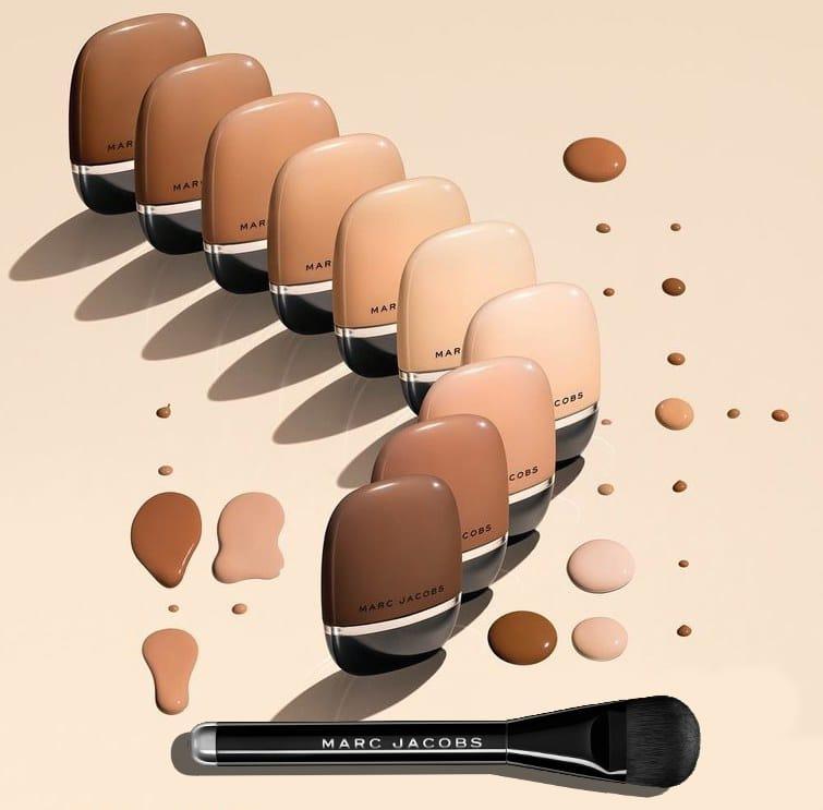 Shameless, il nuovo fondotinta Marc Jacobs Beauty, info, prezzi, swatch, comparazioni