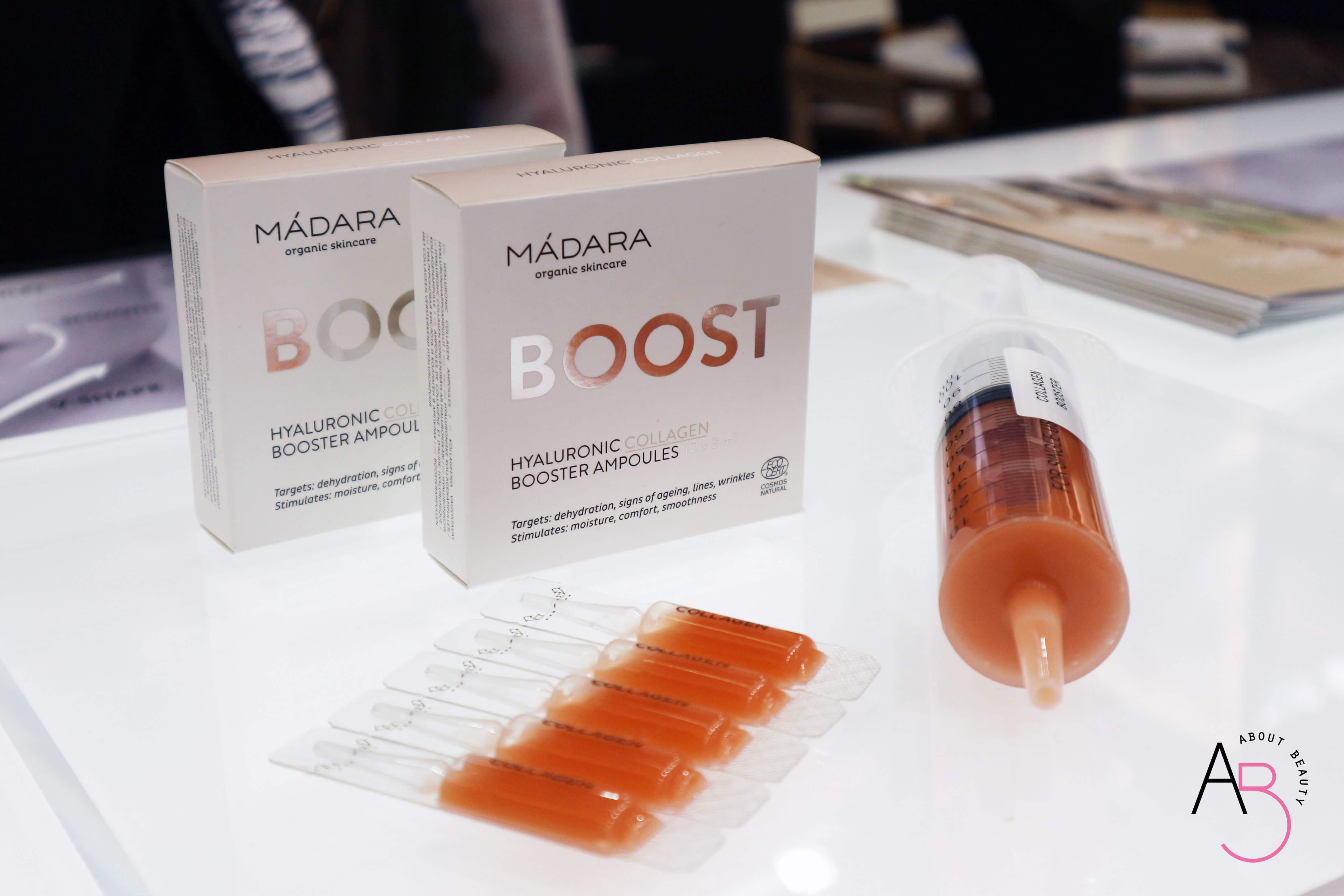 Pillole dal Cosmoprof #2 - Madara e Lavera - Madara Boost Hyaluronic Collagen review, recensione, info, prezzo, dove acquistare