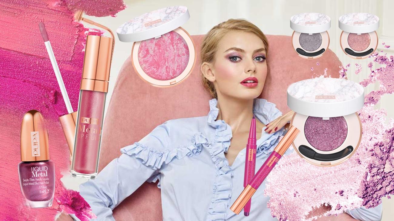 Pupa Material Luxury, la limited edition per dare un tocco glam alla primavera: recensione, review, info, prezzo, dove acquistare, inci, swatch